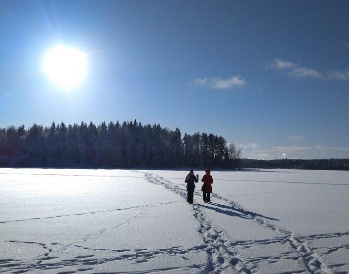 Kävely jäällä